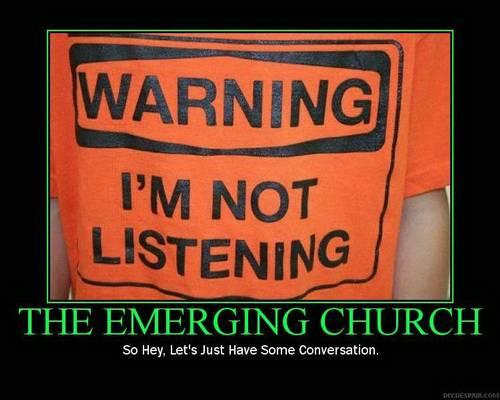 Warning: I'm not listening