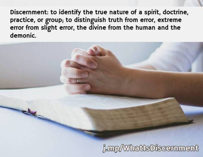 What is discernment