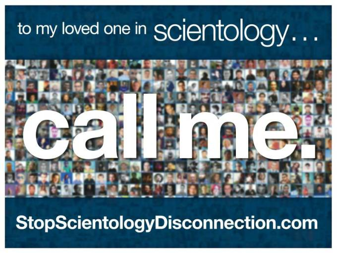 scientology disconnection poster