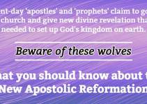 apostles and prophets