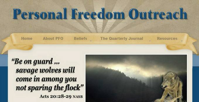 Apologetics ministry Personal Freedom Outreach