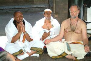 E. Bernard Jordan on a trip to India