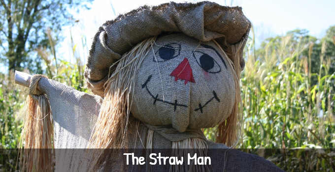 Straw man logical fallacy