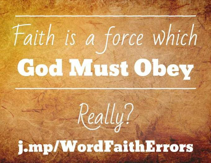 faith is a force
