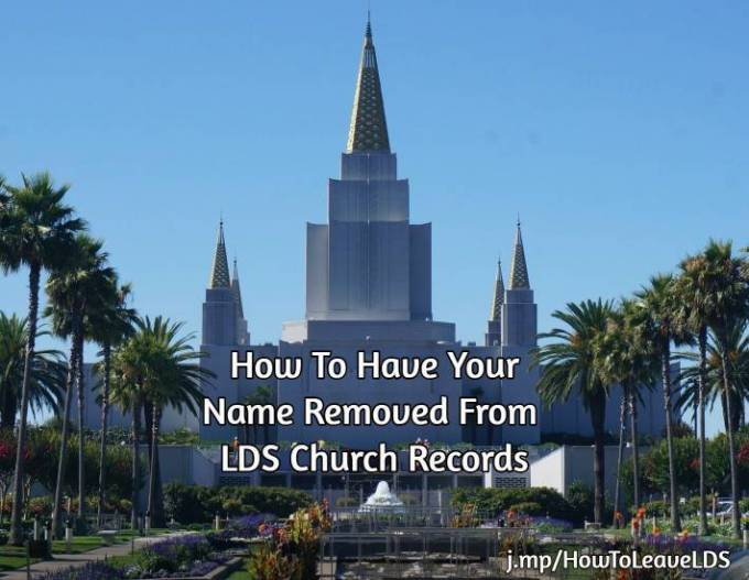 Leave the LDS Church