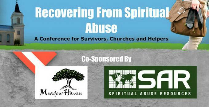 Conference: spiritual abuse recovery