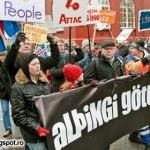 Islanda aruncă la gunoi guvernul corupt şi apoi arestează toţi bancherii supuşi familiei Rothschild