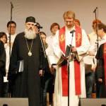 mitr. Serafim Joanta din nou in rugaciune cu ereticii. Oare sinodul sau e CMB sau cel al BOR?