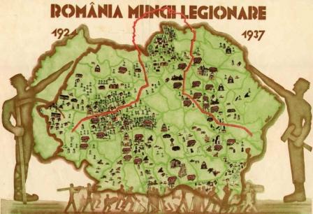harta-romaniei-legionare-romania-mare