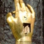 Mâna Sfântului Ioan Botezătorul, cea care L-a botezat pe Hristos