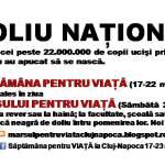 Doliu naţional pentru milioanele de copii avortaţi: 17 – 22 Martie