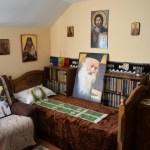 Moment emoționant în chilia Părintelui Justin de la Mănăstirea Paltin-Petru Vodă: Trisaghion întru pomenirea Părintelui la prăznuirea Sf. Iustin Martirul și Filosoful