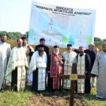 Periprava: S-a pus piatra de temelie a schitului dorit și ctitorit de Părintele Justin