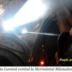 Foto+ Video: Mărturia unei persoane care a văzut cum vine Sfânta Lumină