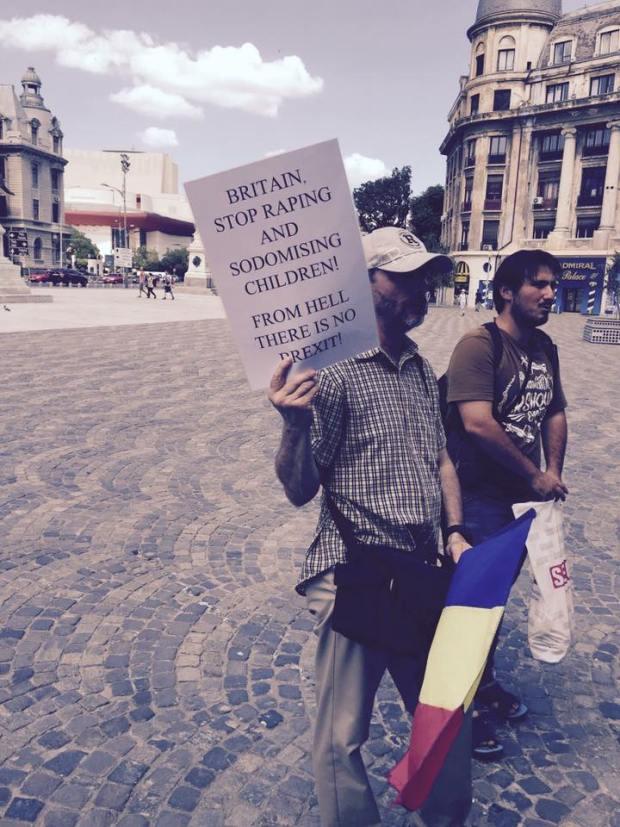 protest Florin Barbu