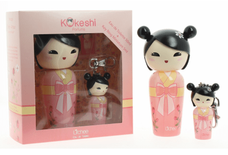 coffret kokeshi litchee parfums