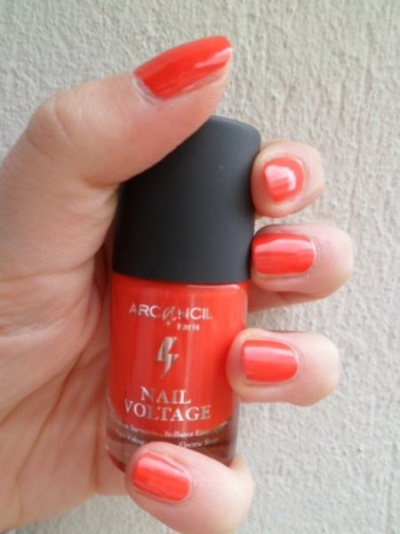 vernis orange arcancil