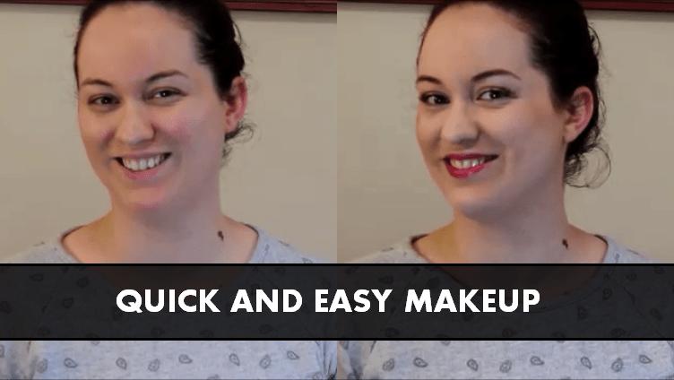 quick easy makeup