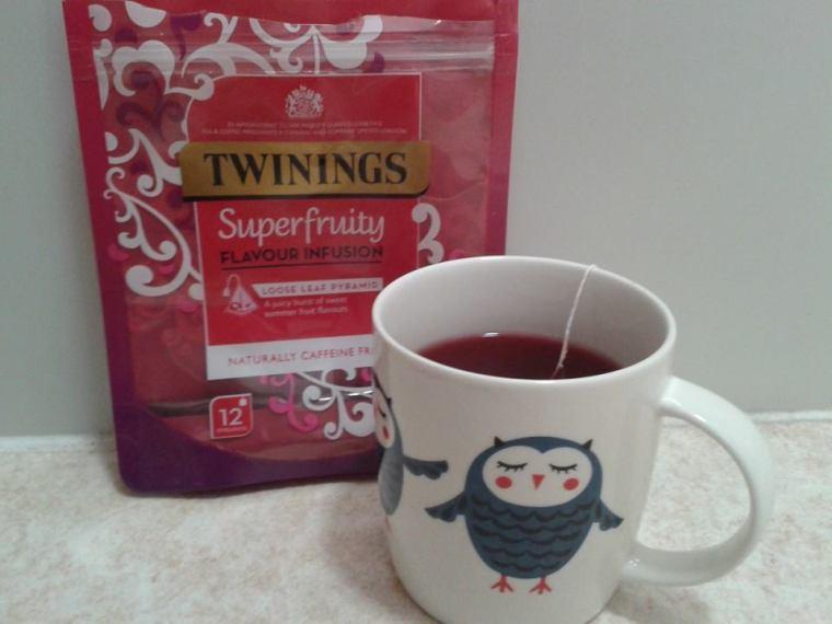 superfruity infusion twinings