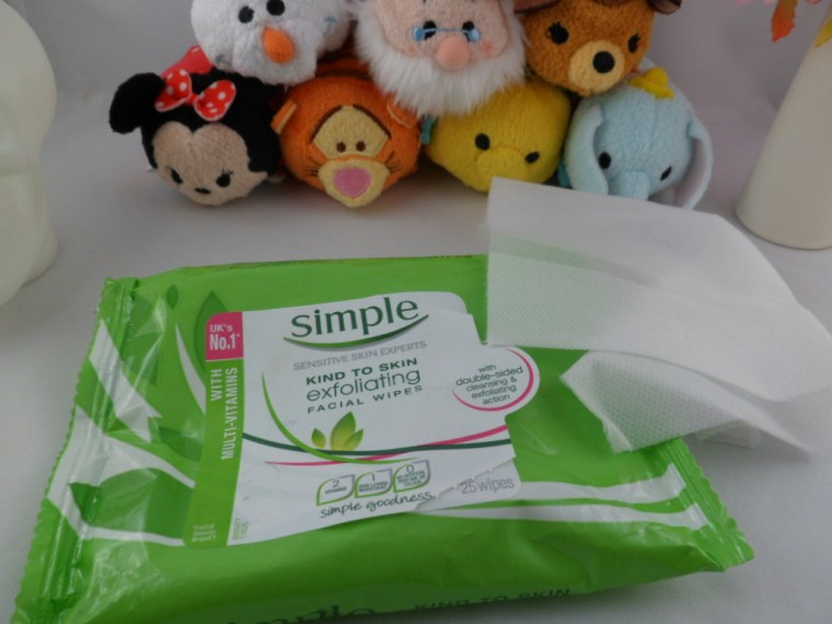 lingettes gommantes simple