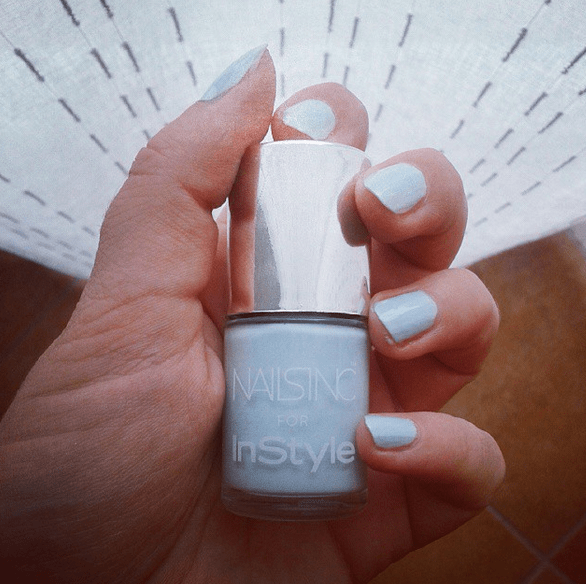 nails inc x instyle tide high