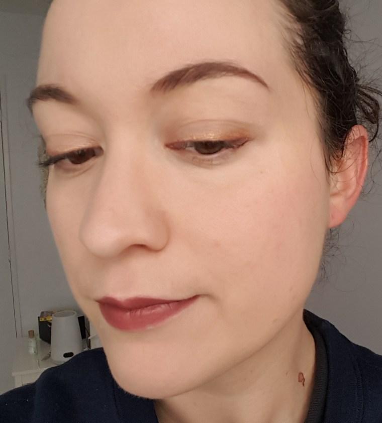maquillage rapide pour les fêtes avec teeez