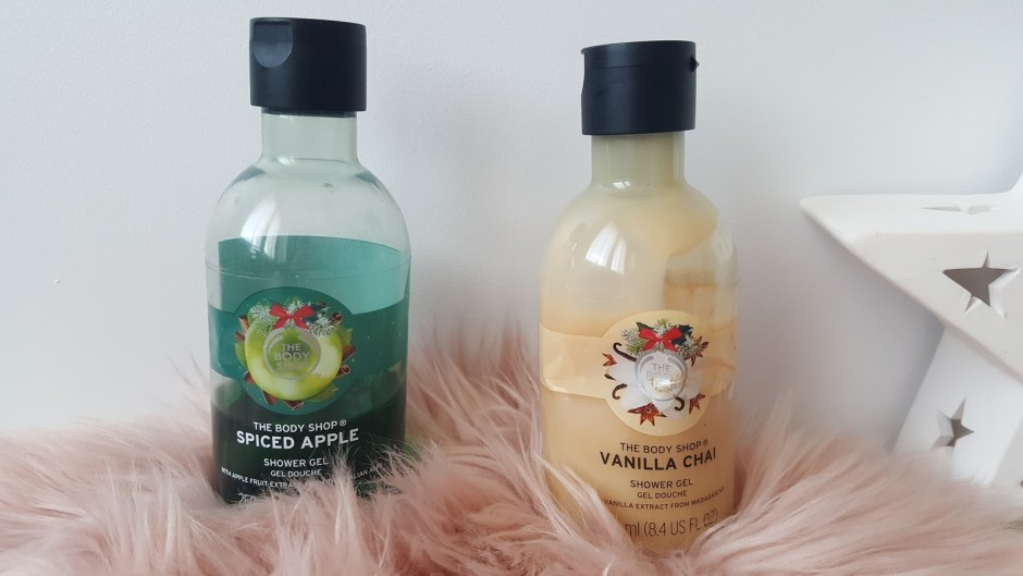 gels douche de saison the body shop