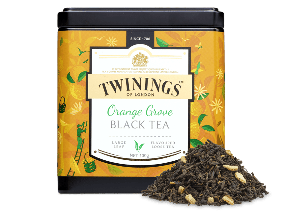 thé orange grove twinings