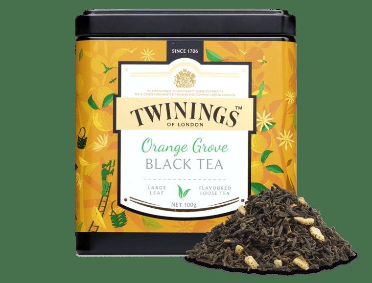 thé orange grove twinings