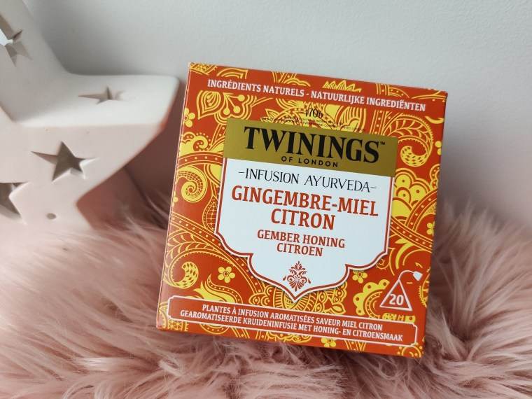 infusion ayurveda twinings gingembre citron miel
