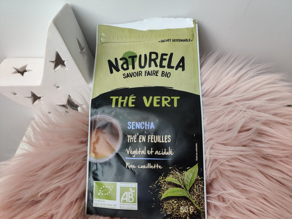 thé vert sencha bio naturela