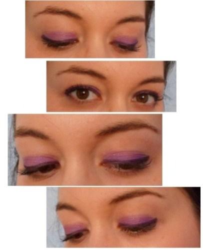 yeux revlon violet smoky