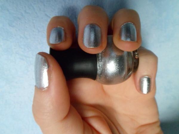 vernis argenté bachette sephora silver