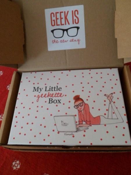 BOITE MY LITTLE GEEKETTE BOX