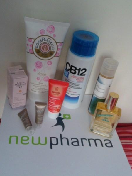 colis newpharma