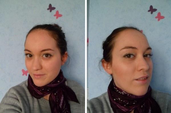 maquillage teint yeux mars