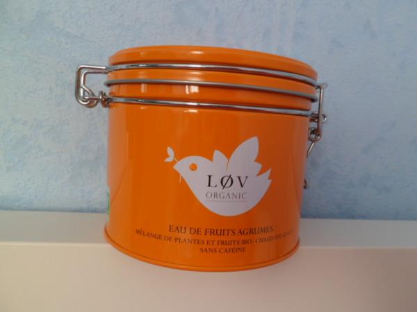lov organic eau fruits agrumes