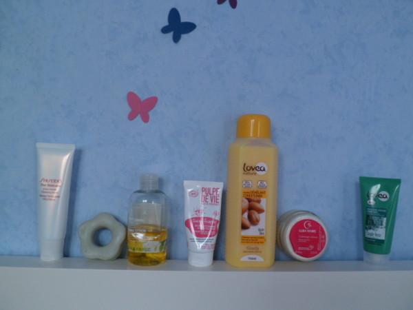 routine douche juillet