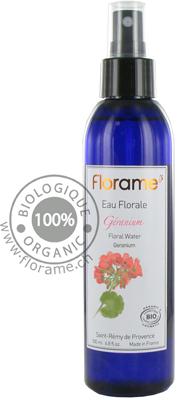 eau florale géranium florame