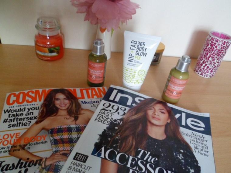 magazines goodies