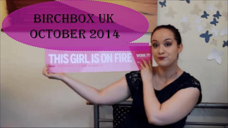 birchbox oct 2014