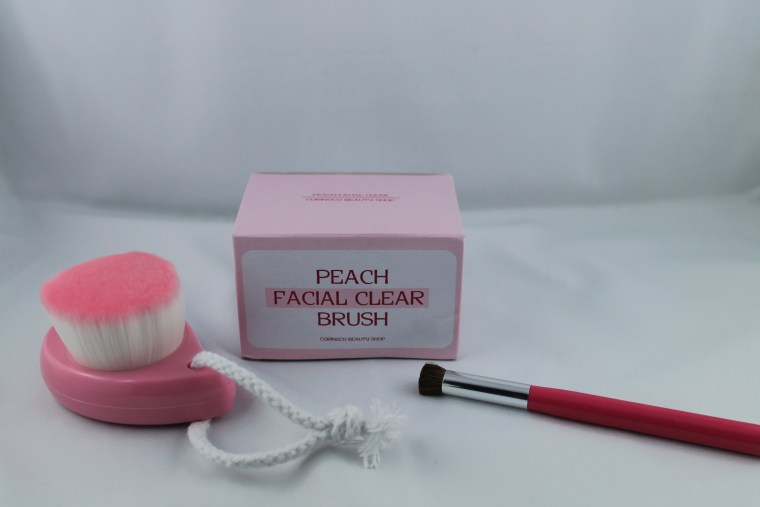 peach clear brush