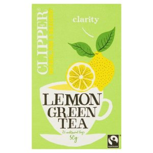 green tea lemon clipper