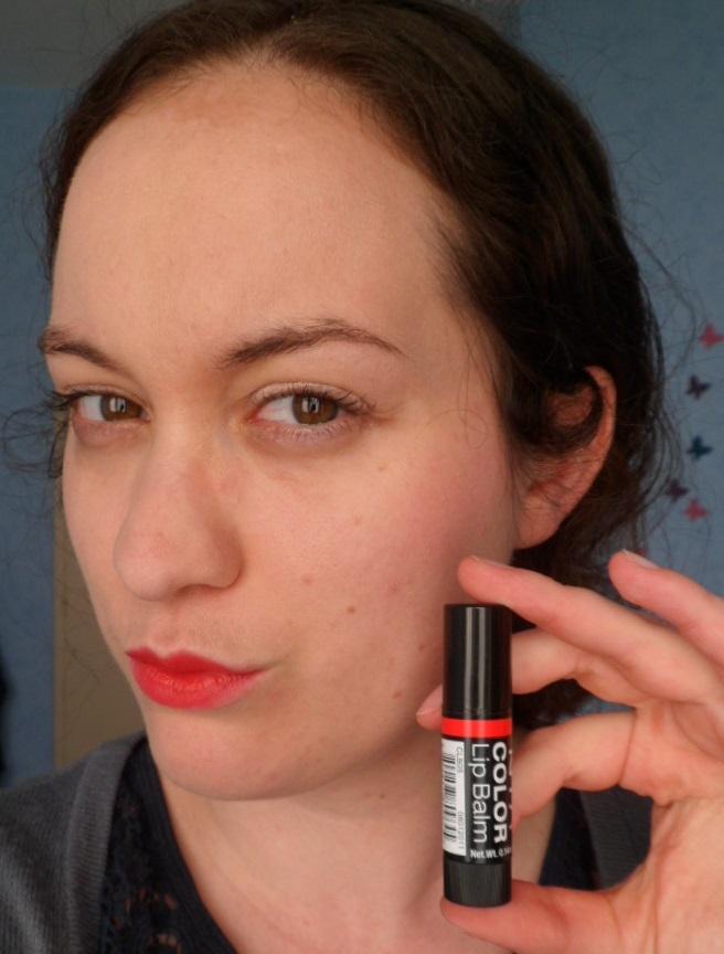 nyx lip balm red