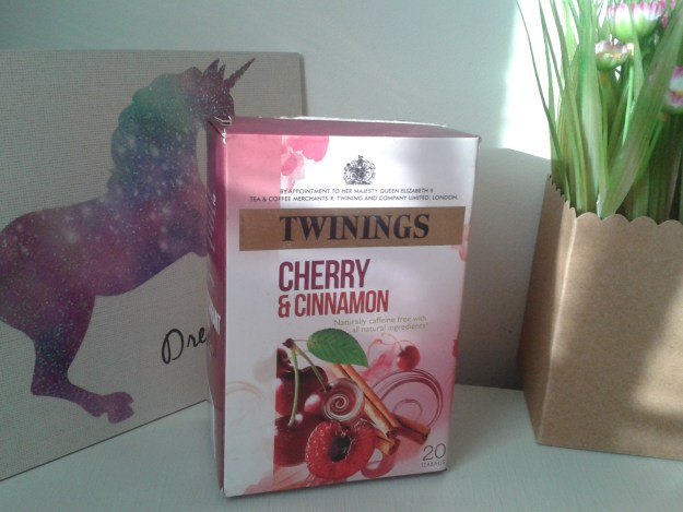 infusion cherry cinnamon twinings
