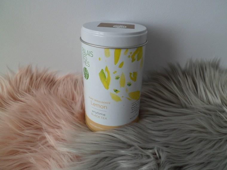 thé noir le citron palais des thés