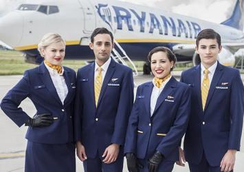 Προσλήψεις στη Ryanair – Συνεντευξεις σε Αθήνα και Θεσσαλονίκη