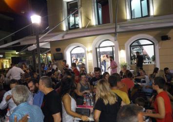 Πλήθος κόσμου στα εγκαίνια του CAFÉ NOBEL 33 στο Τυμπάκι!