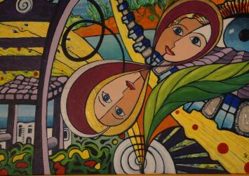 Εγκαινιάστηκε η έκθεση ζωγραφικής της κ. Σουζάνας Κοντοπίδη