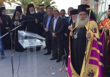 Πραγματοποιήθηκε η ενθρόνιση του νέου Μητροπολίτη Ιεραπύτνης κ Σητείας.
